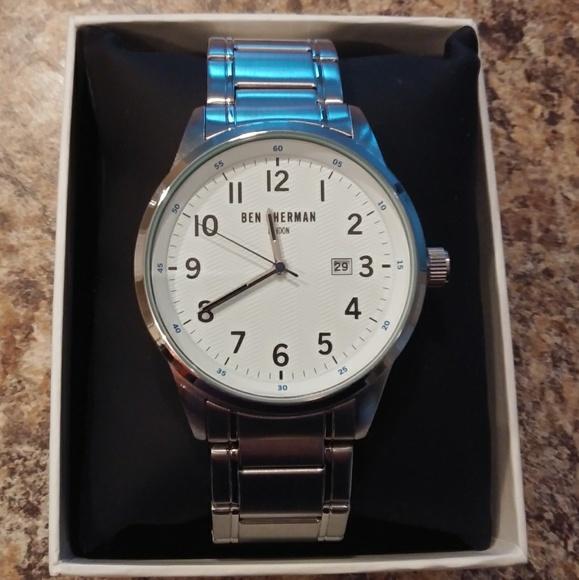Ben Sherman Other - BEN SHERMAN Men's Silvertone Watch-Price is Firm